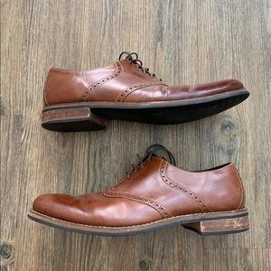 Cole Haan Men's Brown Leather Dress Shoes- Size 12